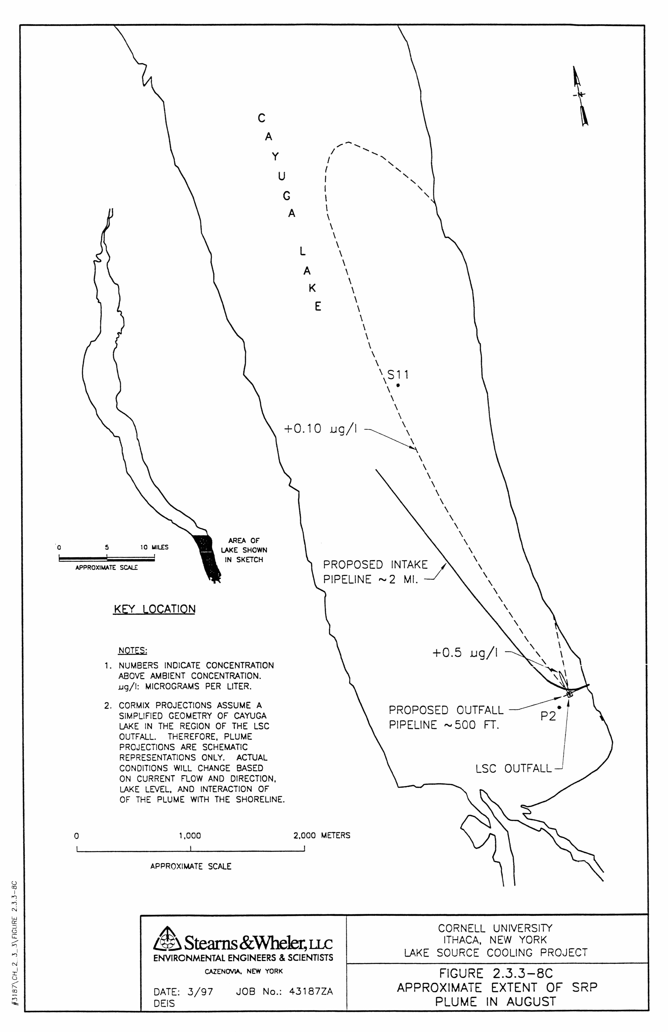 Lake Source Cooling Project Deis Approximate Extent Of Soluble Download The Schematic In Pdf Format Click Here To And Zoom Into Reactive Phosphorus Plume August September