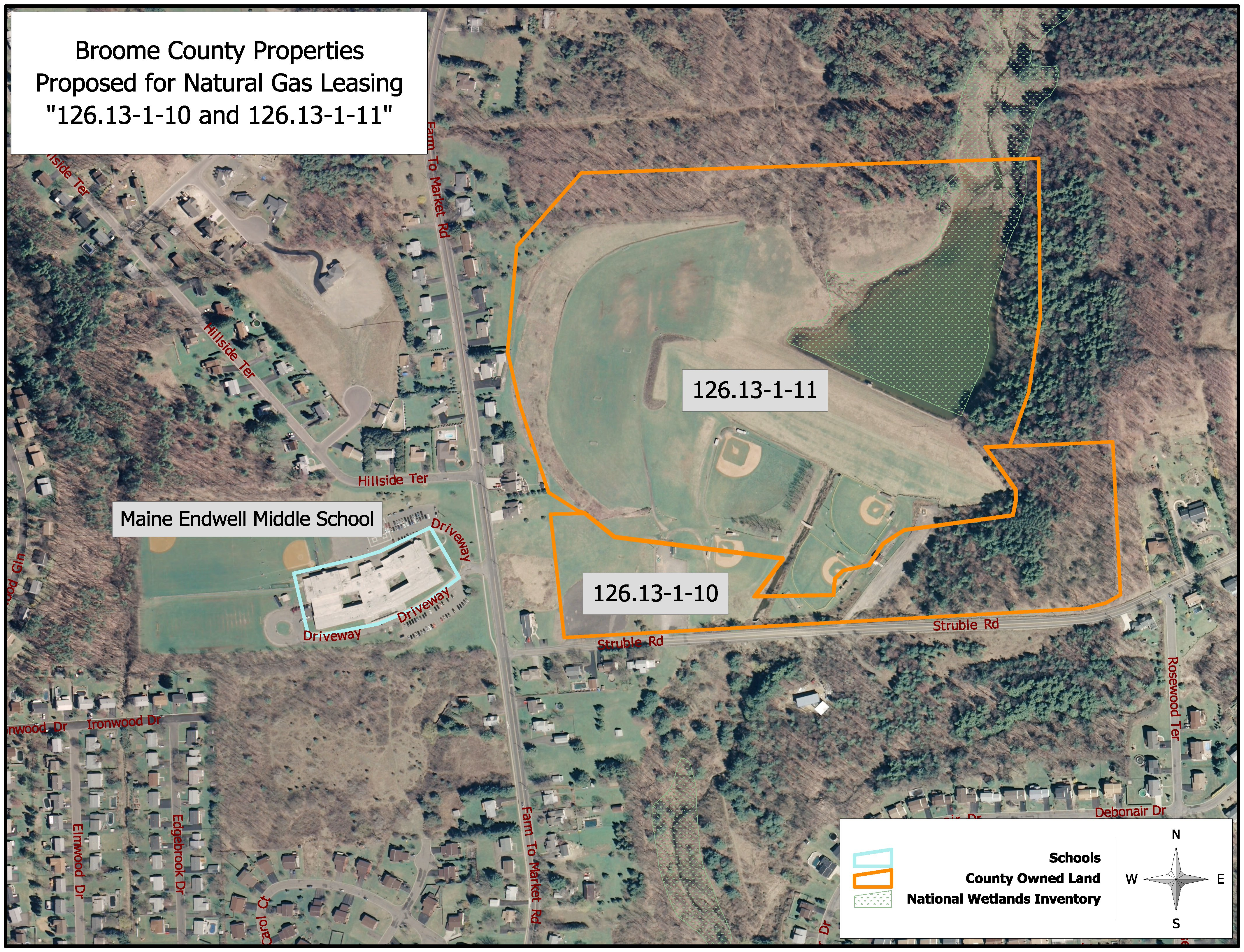 broome county proposed natural gas leasing